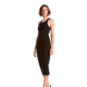 Michael Stars Black racerback dress